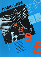BASIC BASS by John Richards- Beginner's guide- Guide débutant