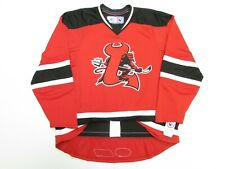LOWELL DEVILS AUTHENTIC AHL RED REEBOK EDGE 1.0 7187 HOCKEY JERSEY SIZE 56