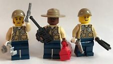 original lego parts 3 x COWBOYS texas rangers + weapon worth to have unit 3