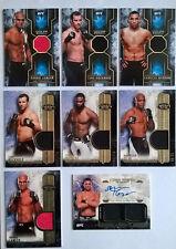 Lot 8 Cartes collection Topps UFC numérotées, Autographs, Werdum,Rockhold,Silva