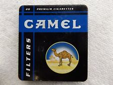 VINTAGE TOBACCO CAMEL METAL CIGARETTE CASE BOX TIN MADE IN GERMANY