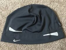 NIKE Beanie RUNNING HAT Polyester SIZE One Size Black WARM S15