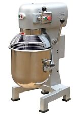 Commercial Planetary Dough Mixer 30 Litre Kneader Cake Bakery Equipment w/ Tools