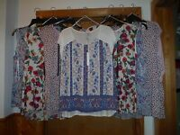 LC Lauren Conrad Short Sleeve & Sleeveless  Blouses 2XL,XL,L,M,Multi Color NWT