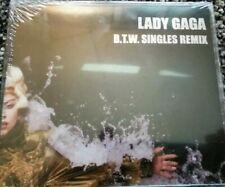 Lady Gaga Born This Way Mexico Promo CD Single Remixes SEALED RARE **B.T.W.