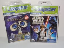 Leap Frog Leapster Star Wars Jedi Reading & Wall-E * New