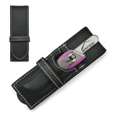 """GÖSOL""""On Tour I"""" 2-Piece Manicure Set with Mont Bleu Glass Nail File in Pink"""