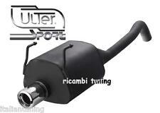 FIAT Panda 100HP 1.4 Scarico Sportivo Omologato Marmitta uscita diam 80 mm