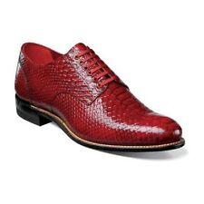 Stacy Adams Madison Anaconda Print Leather mens shoe Dressy 00055-600 Red