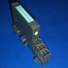 SIEMENS SIMATIC S7 24VDC OUTPUT MODULE 6ES7 132-4BD00-0AA0 W/ 193-4CB00-0AA0