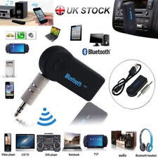 Wireless 3.0 Bluetooth Audio Receiver Aux 3.5mm Music Car Adapter Dongle Mic