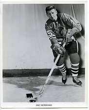 "1960's Eric Nesterinko Chicago Blackhawks Original 8 x 10"" Photo"