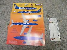 Skyline decals 1/200 Western Pacific Boeing 737-300 Thrifty Car Rental Logo -P7