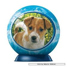 60 st puzzel: Puzzleball - Curious Puppy (Honden) (Ravensburger 097067-2)