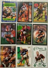 ✺Signed✺ 9 x Allan Langer (Broncos) Lot of NRL Rugby League cards