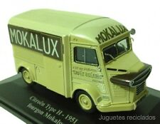 1/43 CITROEN TYPE H 1951 FOURGON MOKALUX CAFE ELIGOR DIE CAST MODEL CAR