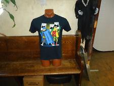 Jay and Silent Bob dressed as Batman and Robin black medium t-shirt, characters