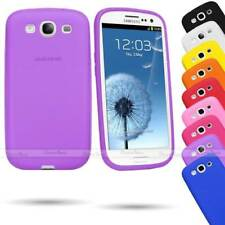 PLAIN SOFT THICK SILICONE IMPACT SHOCK CASE COVER FOR SAMSUNG GALAXY S3 SIII LTE