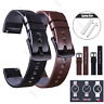 18 20 22 24 mm Quick Release Genuine Leather Watch Band Strap For Fossil Q Watch