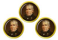 President Zachary Taylor Marqueurs de Balles de Golf
