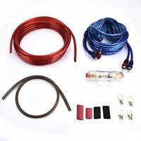 1500 Watt 8 Gauge Car Audio Subwoofer-Unterverstärker AMP Wiring Kit Stromkabel