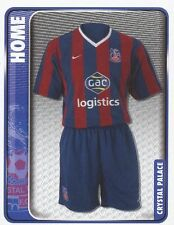 079 HOME KIT ENGLAND CRYSTAL PALACE STICKER FL CHAMPIONSHIP 2010 PANINI