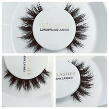 3D Real Mink Eyelashes Makeup Thick Black Eye Lashes Celeb Style