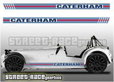 Caterham Martini 002B racing stripes graphics stickers decals Superlight 620R