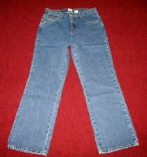 CALVIN KLEIN JEANS 5 Pocket Medium Blue Denim Wash Jeans Misses Size 8 Bootcut