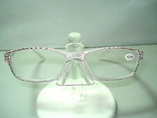 NEW JIMMY CRYSTAL READING GLASSES 511 SWAROVSKI CRYSTALS CLEAR 2.00