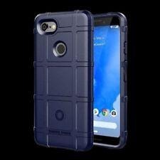 Pour Google Pixel 3 XL Bouclier Séries Extérieur Bleu Étui Housse COQUE