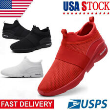 Women's Slip -On Running Shoe Casual Sports Walking Tennis Sneakers Gym Trainers