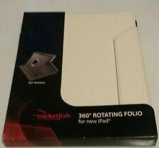 ROCKETFISH 360° ROTATING FOLIO FOR NEW iPAD