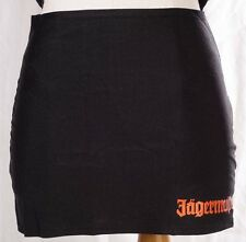 JAGERMEISTER Skirt Thong Cover Black Orange Logo Sz S/M