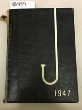 YB489 Jersey Township High School The J 1947 yearbook Jerseyville IL