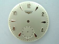 .LONGINES PINK GOLD CAL. 27 17 JEWEL 30MM  NEW OLD STOCK DIAL .