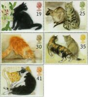 Great Britain - 1789/93 - 1995 Los Gatos-Acuarelas Of Elizabeth Blackadder