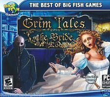 BIG FISH GAMES: GRIM TALES: THE BRIDE. FIND THE TRUTH.SHIPS FAST and SHIPS FREE!
