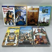 PG Family Film VHS Video Bundle Dunston Goonies Antz Jingle Richie Rich 1123J
