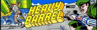 Heavy Barrel Arcade Marquee – 26″ x 8″