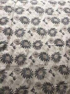 Laura Ashley Kimono Fabric Charcoal - 1.8metres