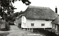 Vintage Real Photo Postcard,  Thatched Cottage, Tawstock, Devon 16X