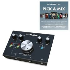 M-Audio M-Track 2X2 Professional USB Audio Interface for PC and MAC inc Software