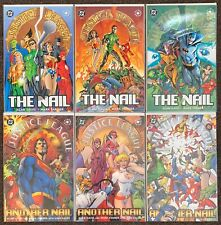 Justice League The Nail #1,2,3 Another Nail #1,2,3 DC Comics Complete Set lot nm