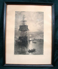 OPC 11x14 Engraving Safe in Port by J. Wellstood published 1879 W. Wellstood & C