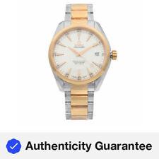Omega Aqua Terra Acero Reloj Automático para Hombre De Oro Rosa 231.20.42.21.02.001