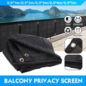 90cm Balcony Privacy Screen Gardening Sunshade Cover Summer Residence Fence