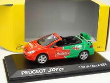 Norev 1/43 - Peugeot 307 CC PMU Tour de France 2004