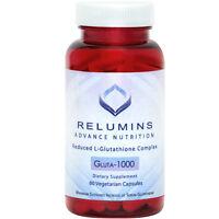 NEW Relumins Advance Nutrition Gluta 1000 - AMAZING GLUTATHIONE CAPSULES!