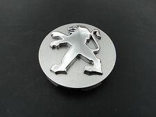 Peugeot 60mm Alloy Wheel CENTRE HUB CAP trim badge 206 307 207 407 9639098380